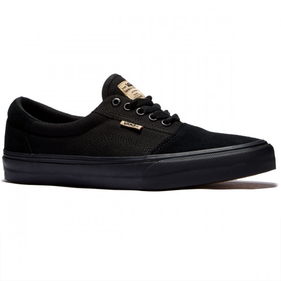 Vans Rowley Solos Shoes - Black/Black - 8.0