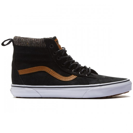 Vans Sk8-Hi MTE Shoes - Black/Tweed - 8.0