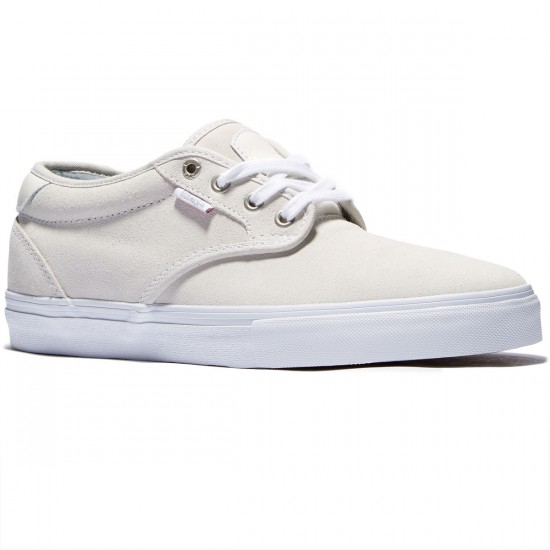 Vans Chima Estate Pro Shoes - True White/True White - 8.0