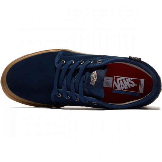 Vans Chukka Low Pro Shoes - Dress Blues/Gum - 8.0