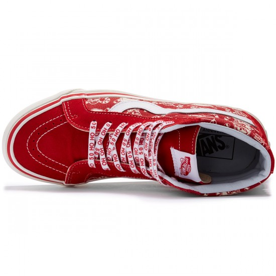 Vans SK8-Hi Reissue Shoes - STV/Pirate Santa Red - 8.0