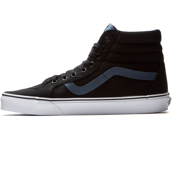 Vans SK8-Hi Reissue Shoes - Black/Dark Slate - 8.0