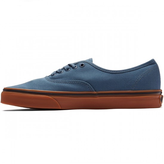 Vans Original Authentic Shoes - Dark Slate/Black - 8.0