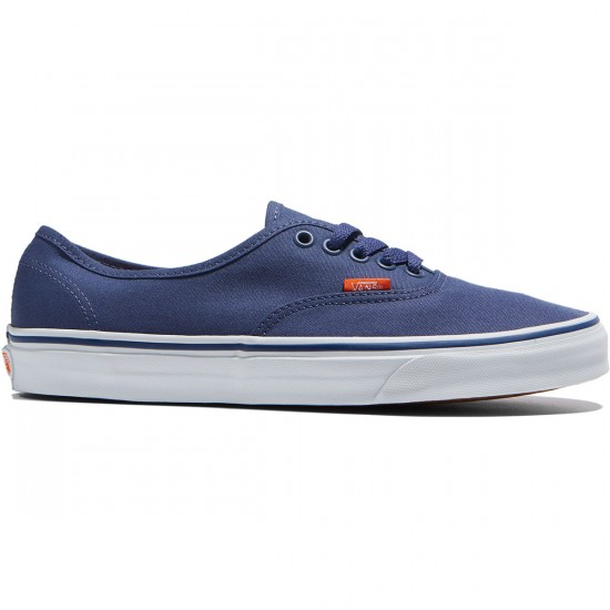 Vans Original Authentic Shoes - Crown Blue/True White - 6.0
