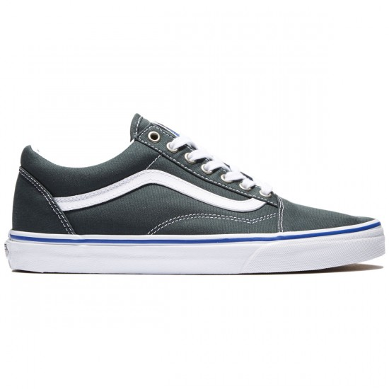 Vans Old Skool Shoes - Green Gables/True White - 8.0