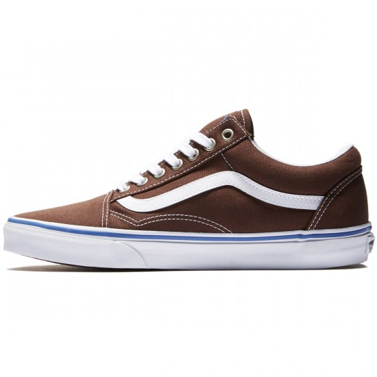 Vans Old Skool Shoes - Chestnut/True White - 8.0
