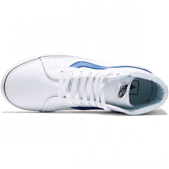 Vans SK8-Hi Reissue Shoes - True White/True Blue - 8.0