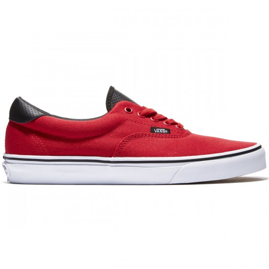 Vans Era 59 Shoes - Racing Red/Black - 8.0