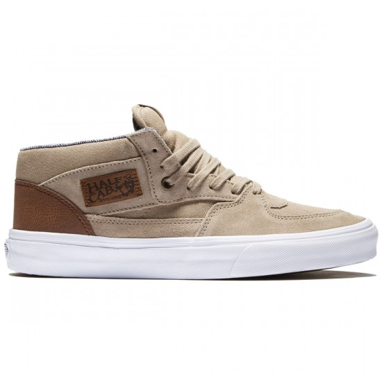 Vans Half Cab Shoes - Silver/Mink/True White - 8.0
