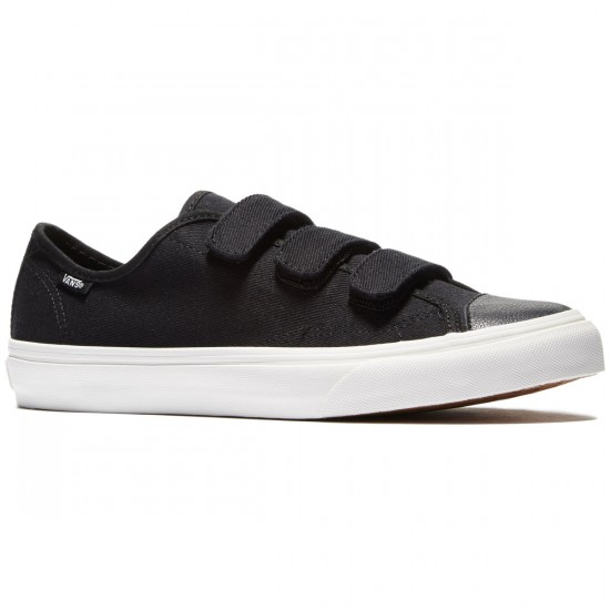 Vans Prison Issue Shoes - Twill Black/Blanc De Blanc - 8.0