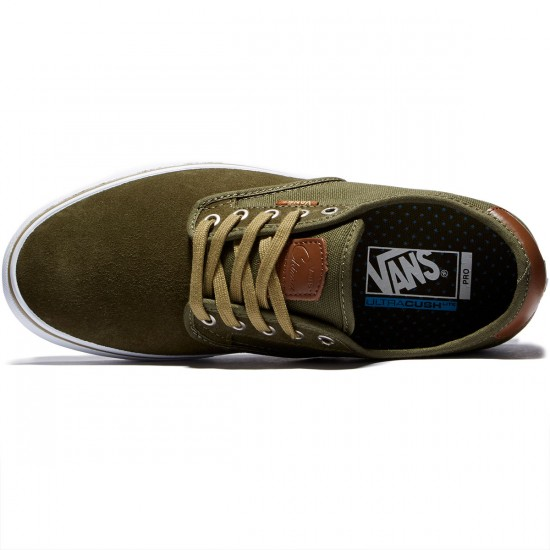 Vans Chima Ferguson Pro Shoes - Ivy Green/White - 8.0