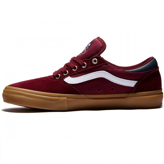 Vans Gilbert Crockett Pro Shoes - Port Royal/Gum - 8.0