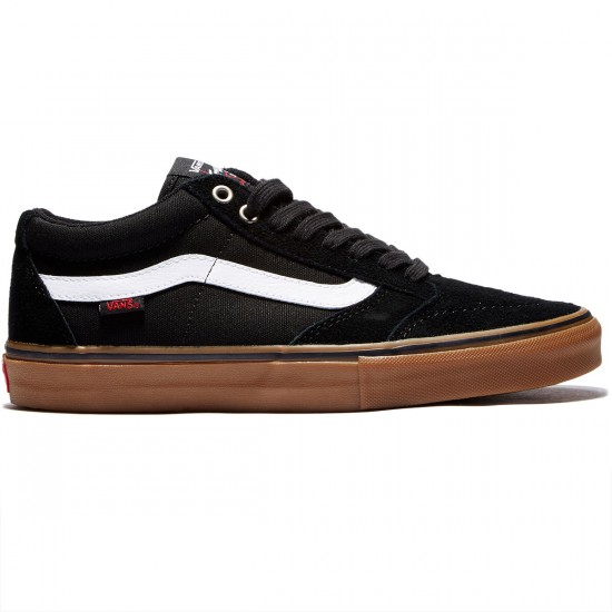 Vans TNT SG Shoes - Black/White/Gum - 8.0