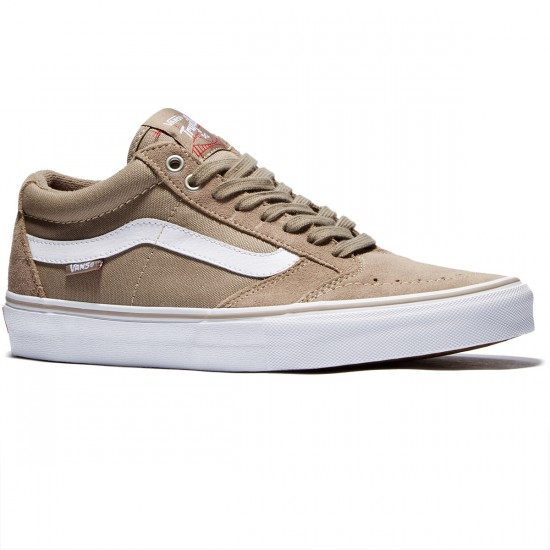 Vans TNT SG Shoes - Taupe/White - 8.0