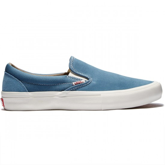 Vans Slip-On Pro Shoes - Blue Mirage/Marshmellow - 8.0