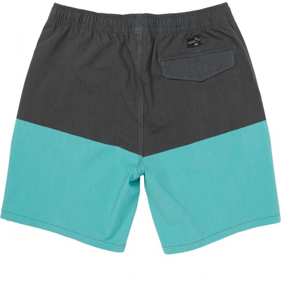 Vans Pressure Decksider Shorts - Black/Baltic