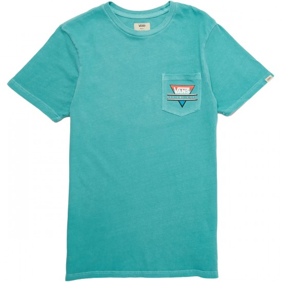 Vans Vintage Retro Tri T-Shirt - Baltic