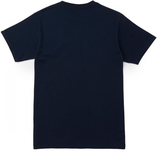 Vans Old Skool Cougar T-Shirt - Navy