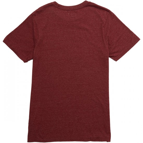 Vans Triblend Full Patch T-Shirt - Rhubarb Heather