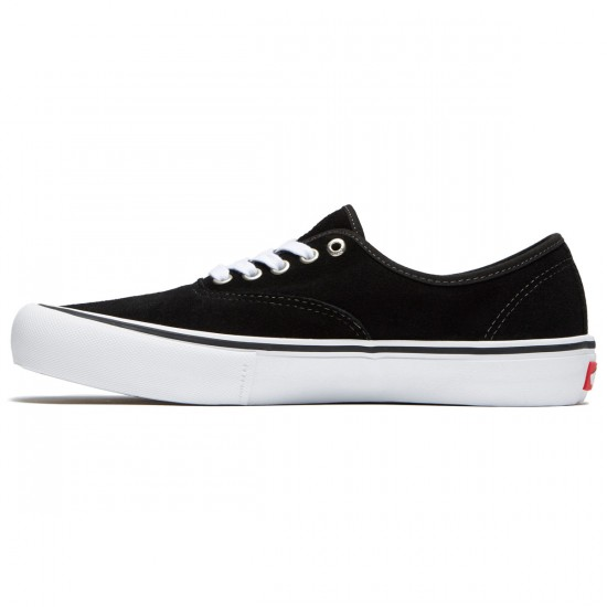 Vans Authentic Pro Shoes - Black Suede - 9.0