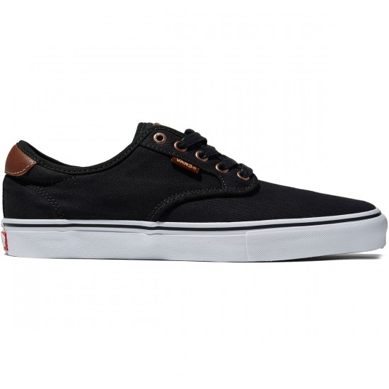 Vans Chima Ferguson Pro Shoes - Brushed Twill Black - 8.0