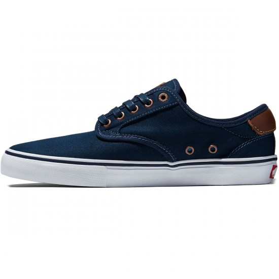 Vans Chima Ferguson Pro Shoes - Brushed Twill Navy - 8.0