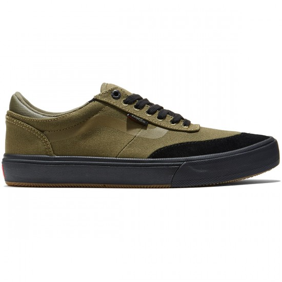 Vans Gilbert Crockett Pro 2 Shoes - Ivy Green/Black - 8.0