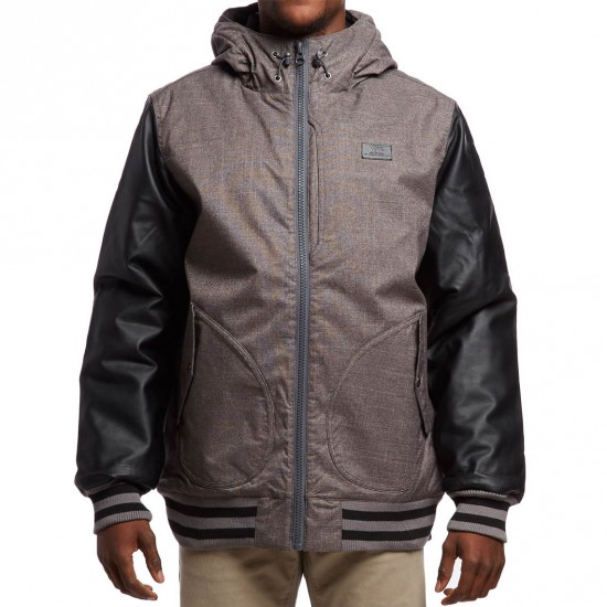 Vans Rutherford II Jacket - Gravel/Black