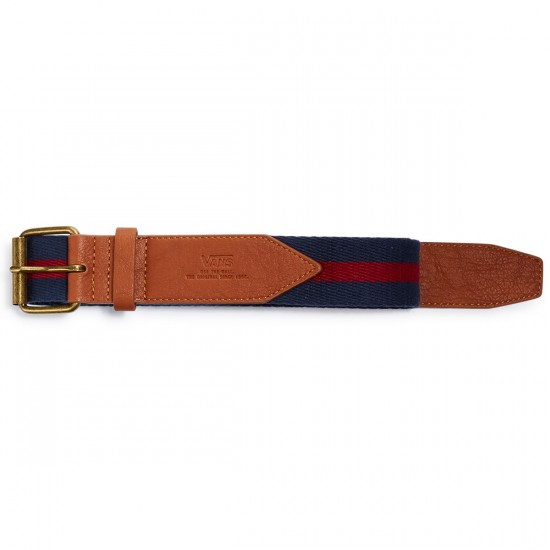 Vans Commander Belt - Dress Blues/Rhubarb