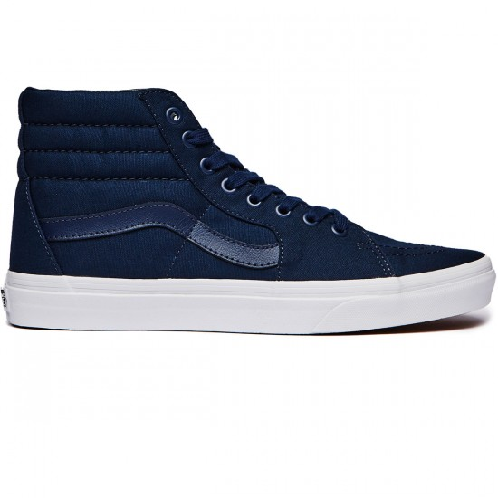 Vans Sk8-Hi Shoes - Dress Blues/True White - 6.5