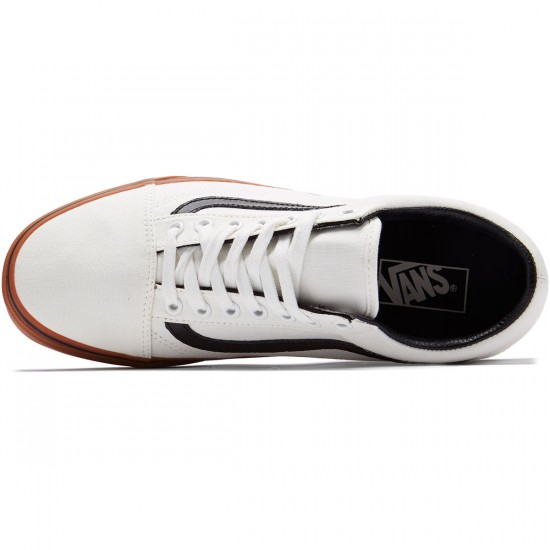 Vans Old Skool Shoes - Blanc de Blanc/Black - 8.0