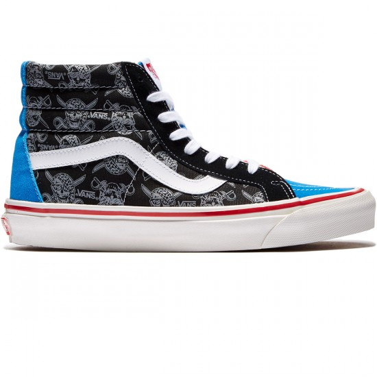 Vans SK8-Hi Reissue Shoes - Van Doren Multi Print - 8.0