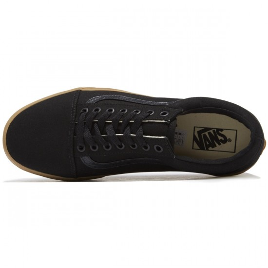 Vans Old Skool Shoes - Black/Light Gum - 8.0
