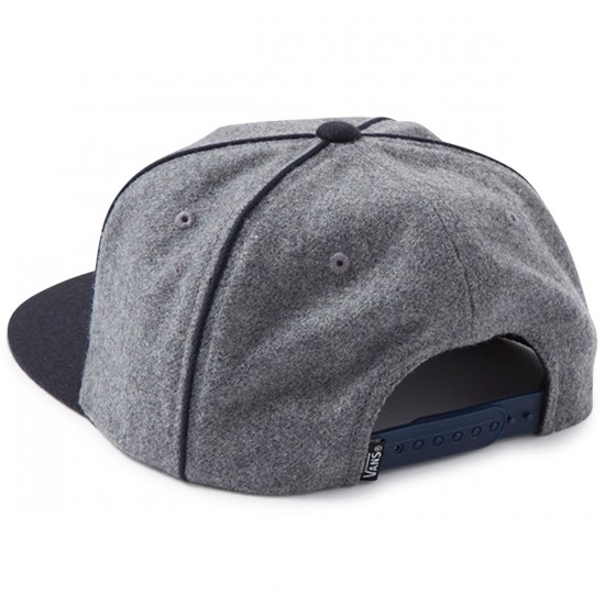 Vans Owen Unstructured Hat - Heather Grey/Dress Blues