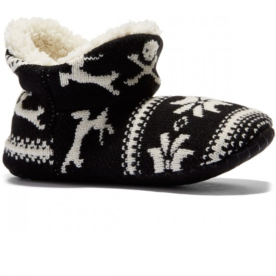 Vans Keep Cozy Slippers Womens  - Holiday Black