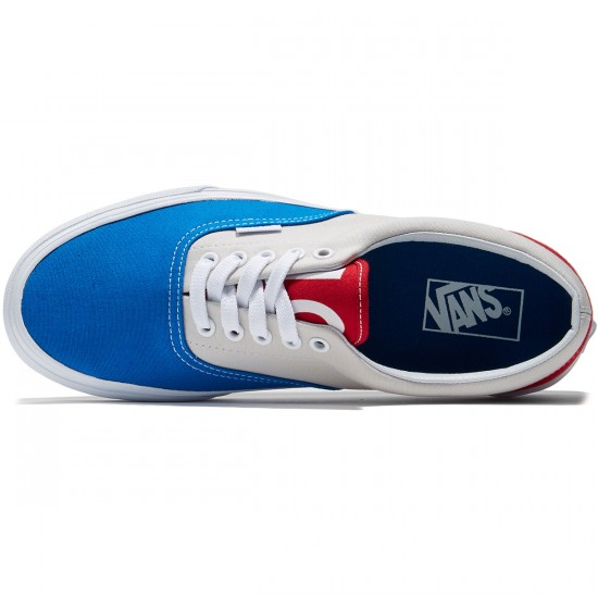 Vans Era Shoes - 1966 Blue/Grey/Red - 8.0