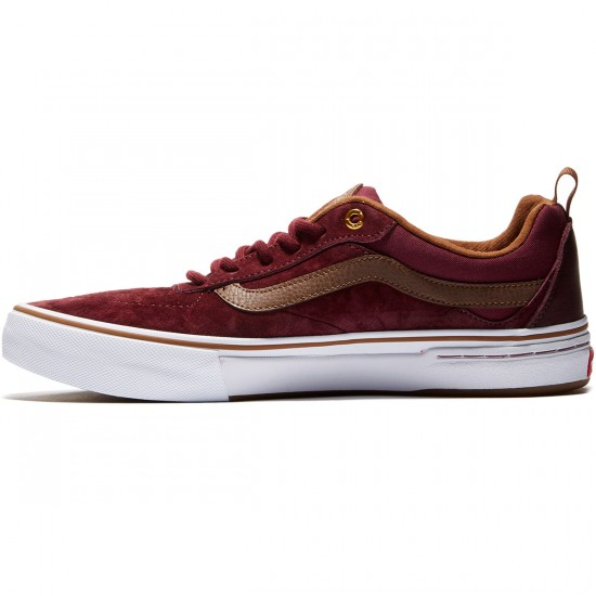 Vans Kyle Walker Pro Shoes - Red Dahlia - 8.0