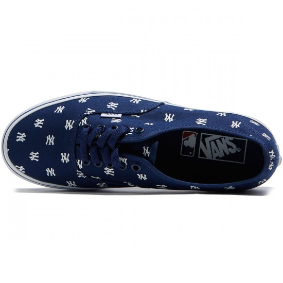 Vans Authentic MLB Shoes - New York/Yankees/Navy - 8.0