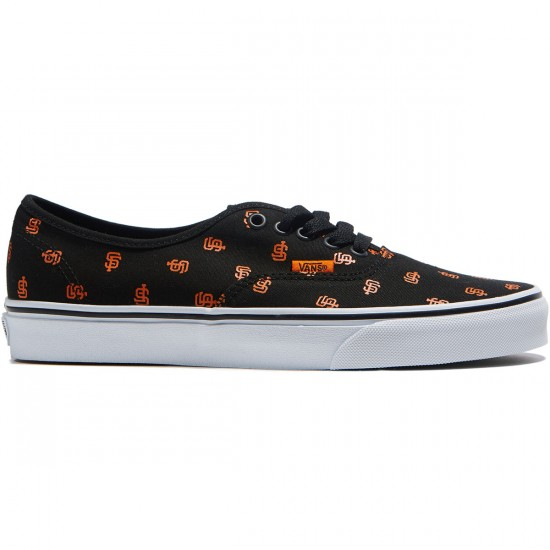 Vans Authentic MLB Shoes - San Fransisco/Giants/Black - 8.0