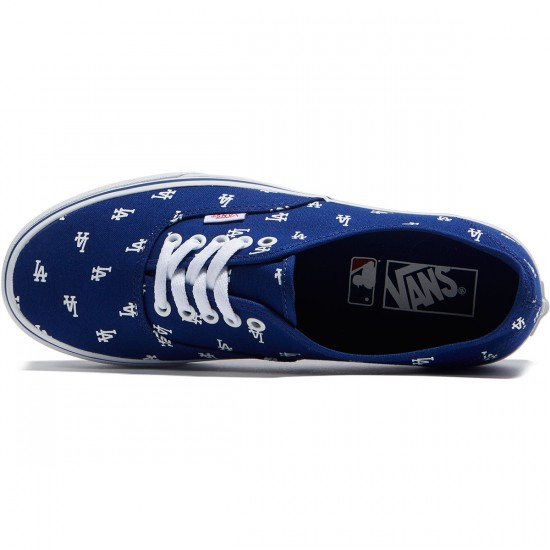 Vans Authentic MLB Shoes - Los Angeles/Dodgers/Blue - 8.0
