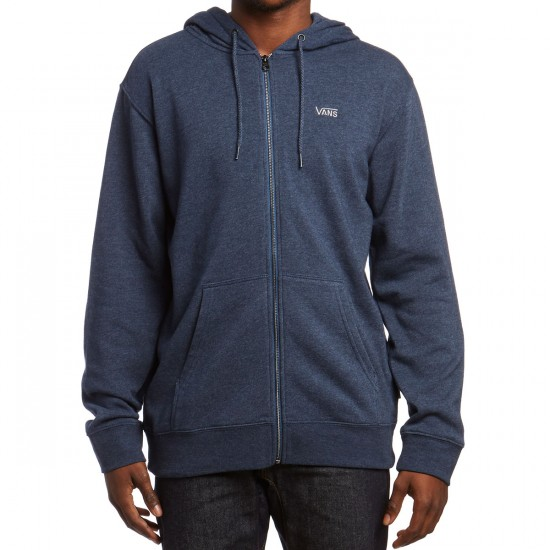 Vans Core Basic Zip Hoodie - Dress Blues Heather