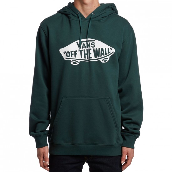 Vans Off TheWall Pullover Hoodie - Green Gables/White