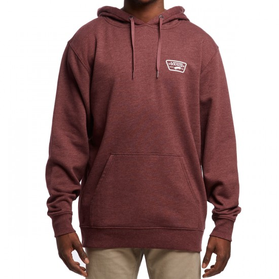 Vans Full Patched Hoodie - Port Royale Heather