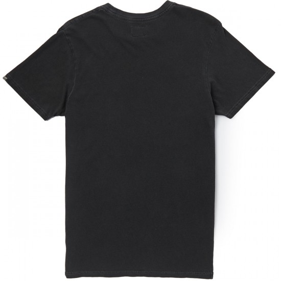 Vans Original Classics Wash T-Shirt - Black Overdye
