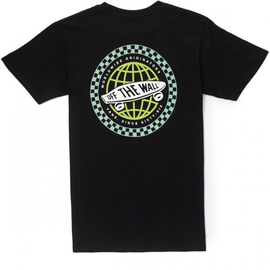 Vans Worldwide Originators T-Shirt - Black