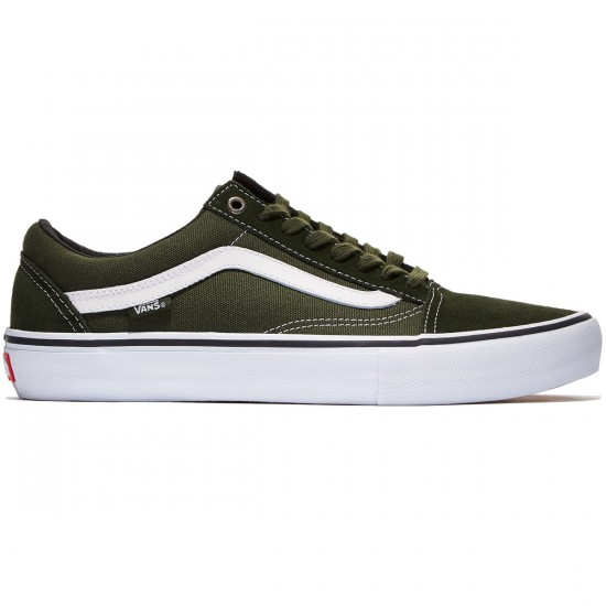 Vans Old Skool Pro Shoes - Rosin/White - 7.0