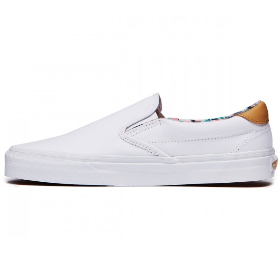 Vans Slip-On 59 Shoes - Dolphins/True White - 6.5