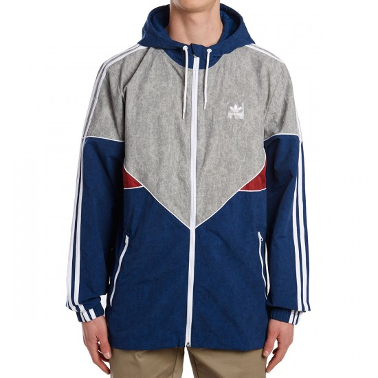 Adidas Colorado Nautic Jacket - Blue/Red/Solid Grey/White