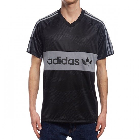 Adidas Word Camo Jersey - Black/Utility Grey/White