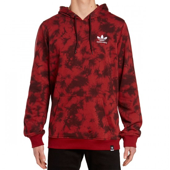 Adidas Clima Remix Pull Over 2 Hoodie - Red/Night Red